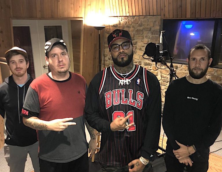 Joyner Lucas at Azmyth Music Tech