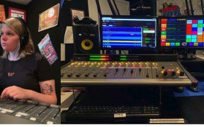 Azmyth Students in Radio